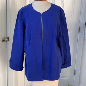 NWT Alicia Texture Long Sleeved Jacket Size 3